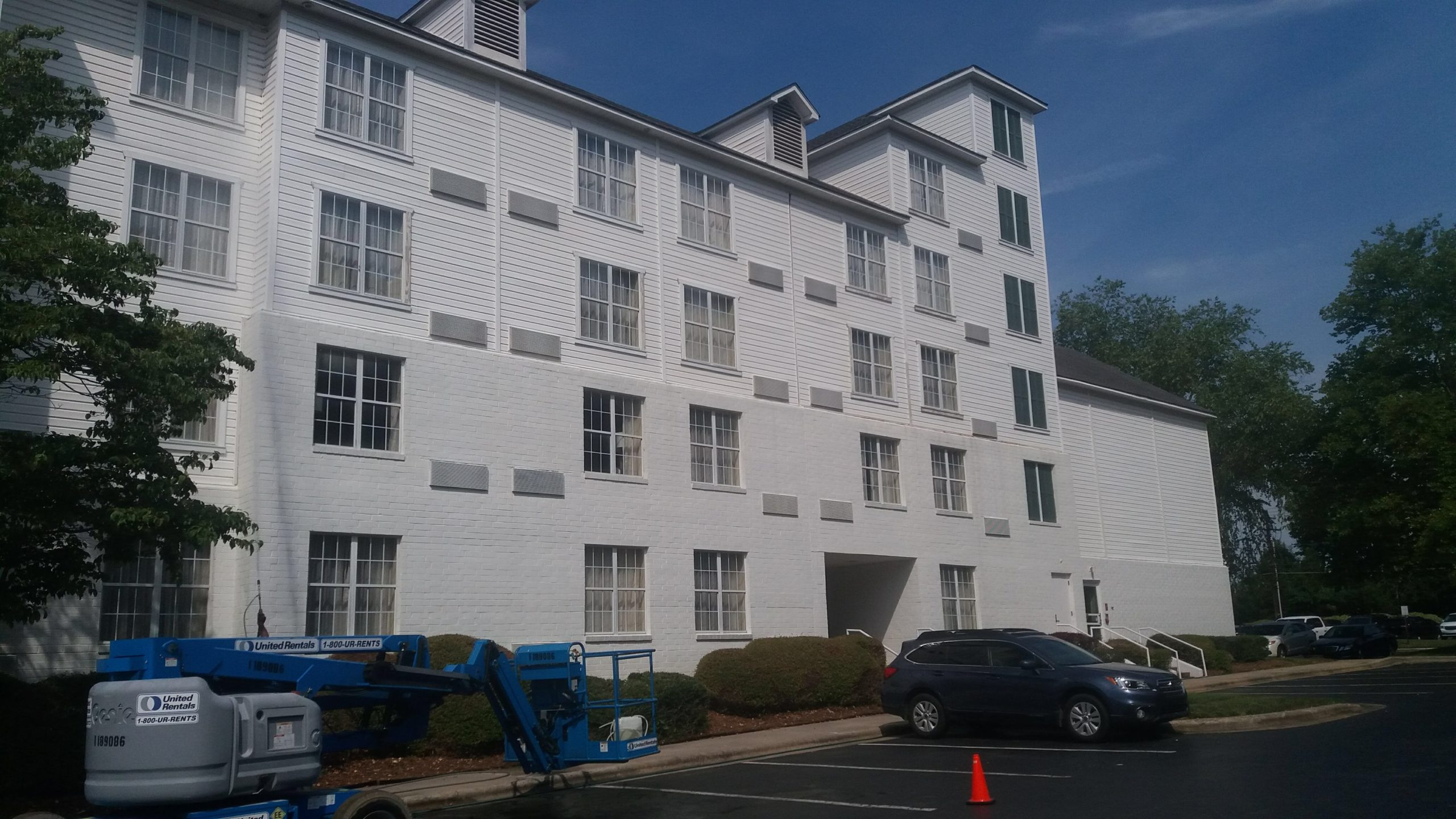 First impressions of your building make a difference in how potential tenants perceive an apartment building. By having the building cleaned and maintained properly it can make an impact on how many units sit empty. With over 15 years of experience in the pressure washing industry, we are dedicated to providing the highest possible standards of quality and safety on all of the projects we undertake. We Guarantee our work and strive for 100% Customer Satisfaction at all times. We have been serving Raleigh by cleaning Multi Unit Properties, Apartment, Condominium and Townhome Complexes and we know how to remove the toughest stains safely and quickly.