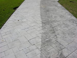 Pressure Washing Can Achieve Deep Cleaning On Concrete